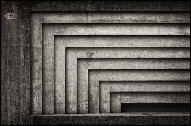 Concrete detail (Carlo Scarpa @ Architectural Faculty Venice)