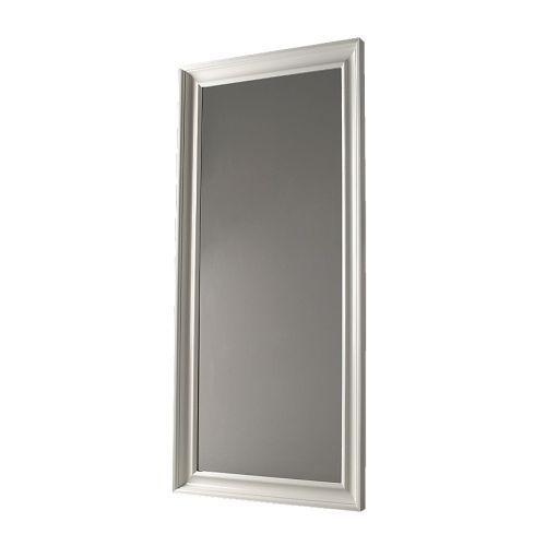 HEMNES Spegel - vit - IKEA