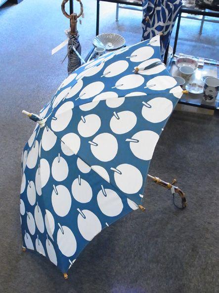 竹澤桂子 リンゴ長日傘