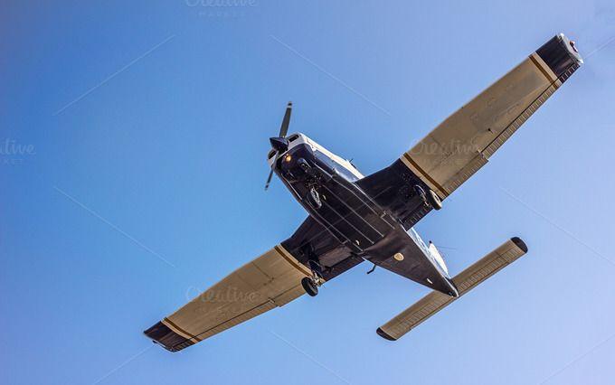 light sport aircraft - Close up  by JCB Photogr@phic on Creative Market