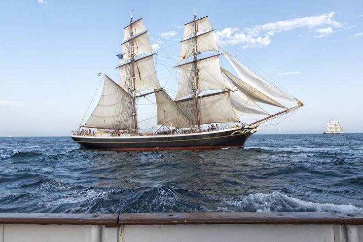 https://flic.kr/p/NsGbc4 | Tall Ship Race 2016 - Morgenster | Seen from Christian Radich