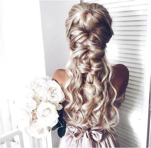 2017 long curl wavy hair styles DIY  ombre blonde  easy elegant beautiful  half