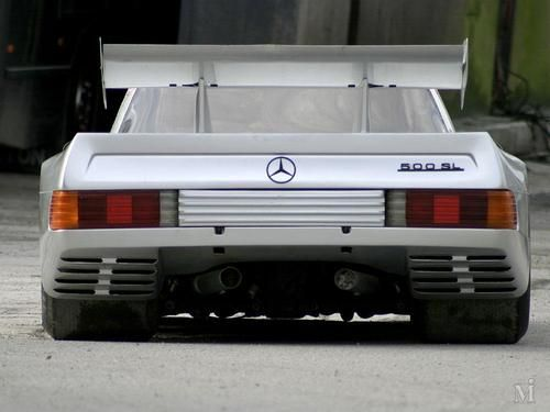 1980 Mercedes 500SL Group C  Based on a McLaren M8F Can-Am / Powered by a mid-engine Mercedes V8 5l 600hp / 850kg