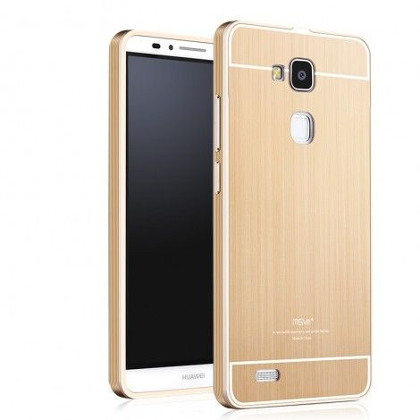 Msvii Metal Frame with Back Cover Case For Huawei Mate 8