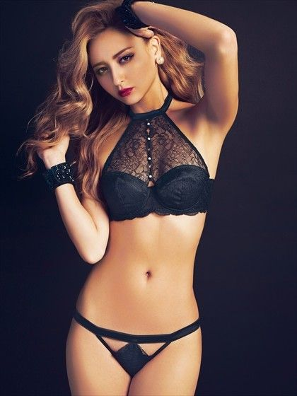 Luxury Lacy ブラセット BLACK