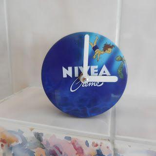 IdeenMuckla: Uhr mit NIVEA (U)