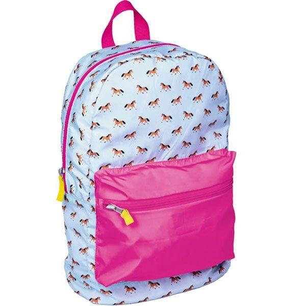 Αναδιπλούμενη τσάντα «Horse Friends»