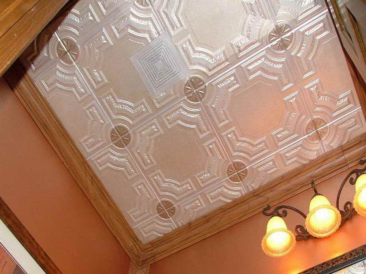 The Advantages Using Plastic Ceiling Tiles: Plastic Ceiling Tiles That Look Like Tin With Crown Molding ~ gamesbadge.com Floor Inspiration