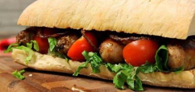 طريقة عمل سندويشات نقانق Sausage Sandwiches Sandwiches Food