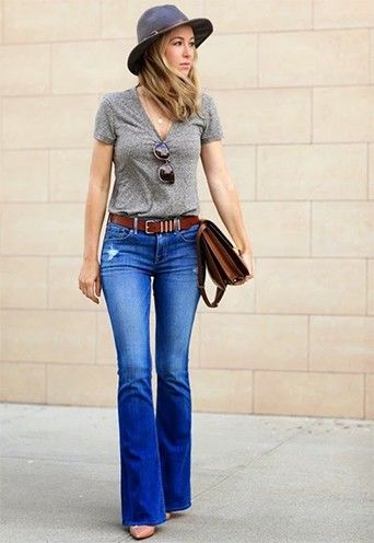 Wide Leg Jeans For Women | #Fashion #Lifestyle #FlareJeans