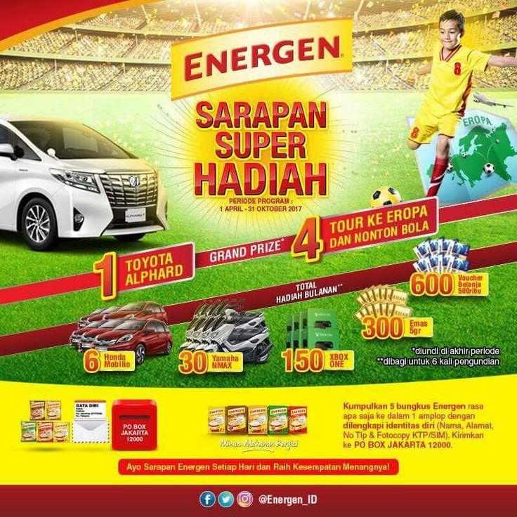 Quiz Energen Sarapan Berhadiah