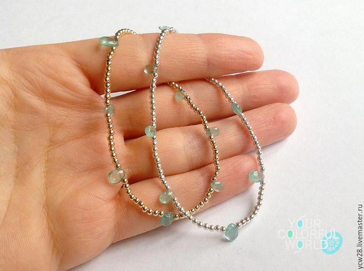 Купить Роса в серебре // Dew in Silver - авторская ручная работа, авторские украшения