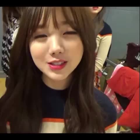멤버들이랑 상수역 맛집을 가고싶은 김케이 #케이 #러블리즈 #lovelyz #kei