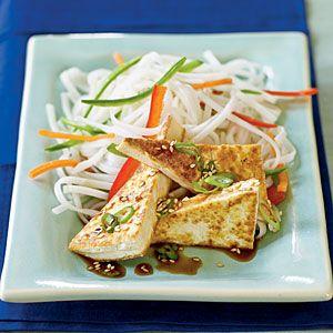 Soy-Glazed Tofu Recipe, 132 calories (V)