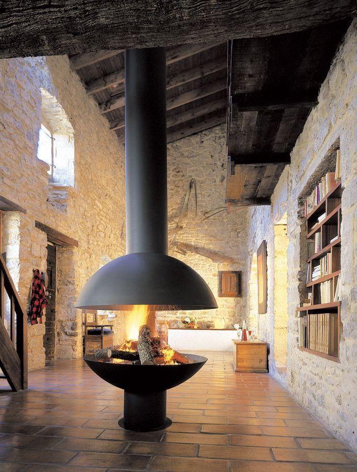46 besten moderne kamine bilder auf pinterest. Black Bedroom Furniture Sets. Home Design Ideas