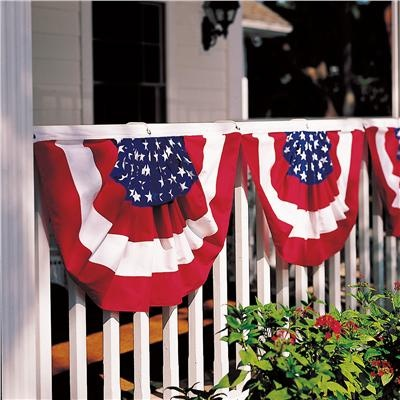 Classic Cotton Flag Buntings From Lillian Vernon | 4th Of July Decor