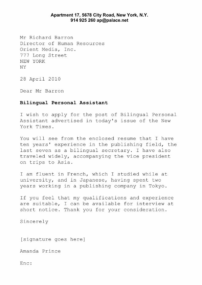 Cover letter - Bilingual Secretary CV´S, RESUME, JOBS, ETC - personal assistant cover letter