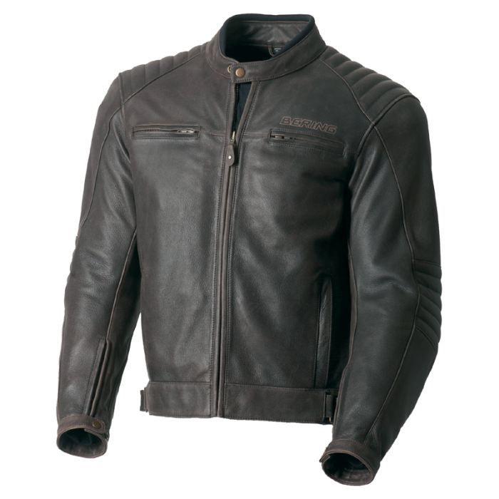 [Vendu] ]Blouson moto cuir Bering BRANIGAN Taille M