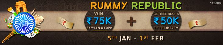 @adda52poker has brought an excellent opportunity to all the online rummy players to grab guaranteed prize pool of 1.25 lakhs. Join now with entry fee Rs.25.