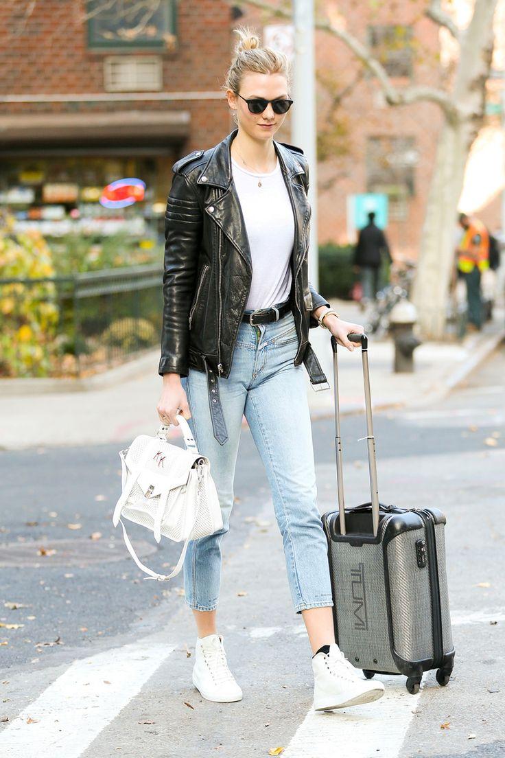 Karlie-kloss-top-knot-leather-jacket