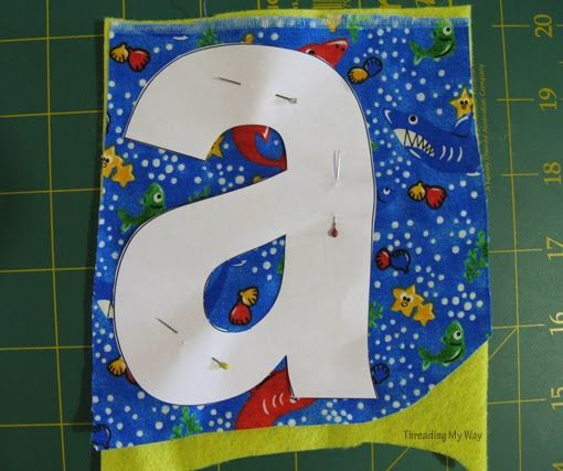 17 best images about fabric letters on pinterest strudel With fabric letters for stockings