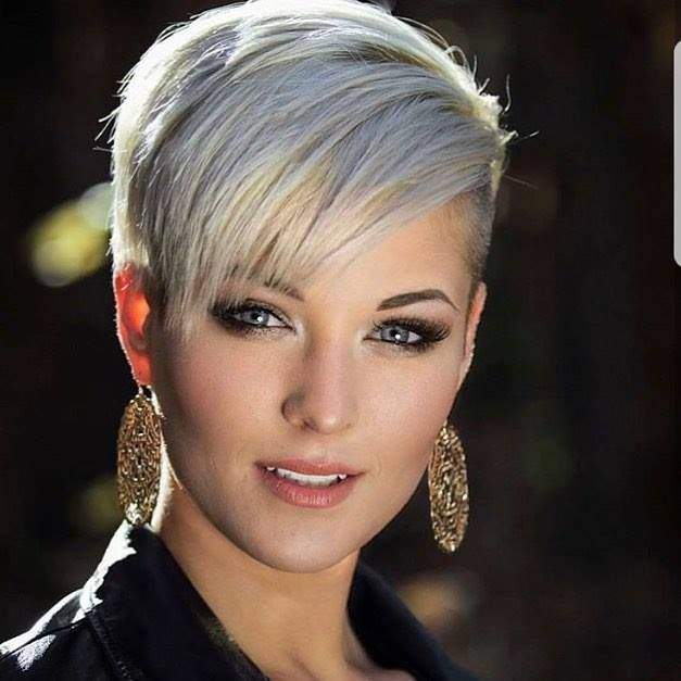 Short hair is beautiful and sexy