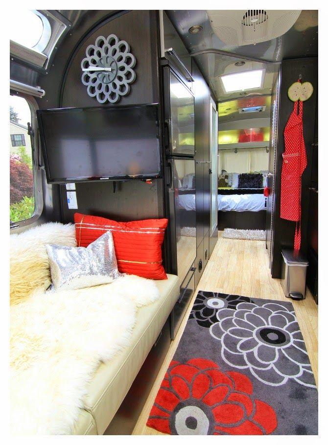 M s de 1000 ideas sobre interiores de caravanas en - Decoracion interior caravanas ...
