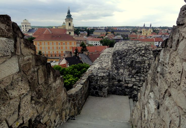 Views of Eger from the Eger Castle Ruins.