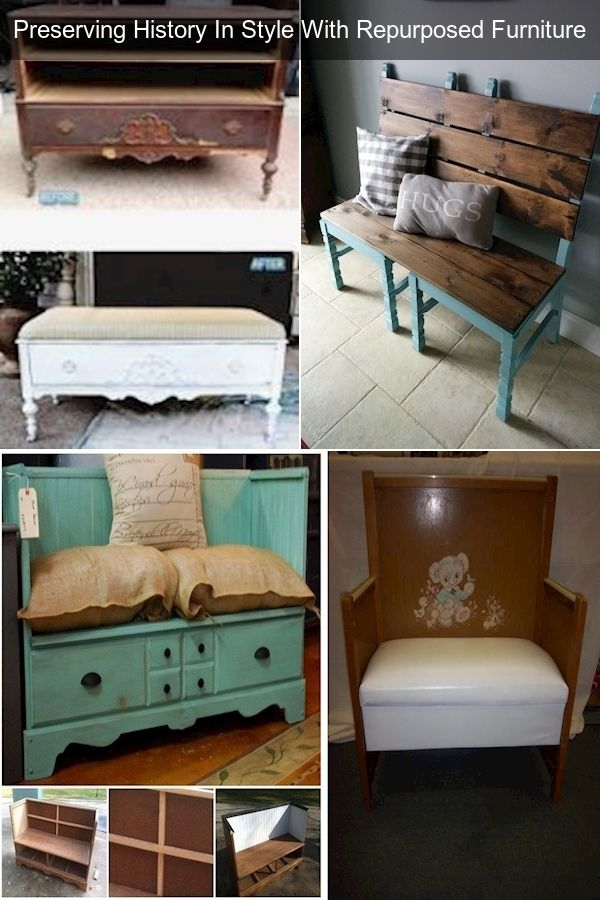 Old To New Furniture Ideas Repurposed Junk Furniture How To