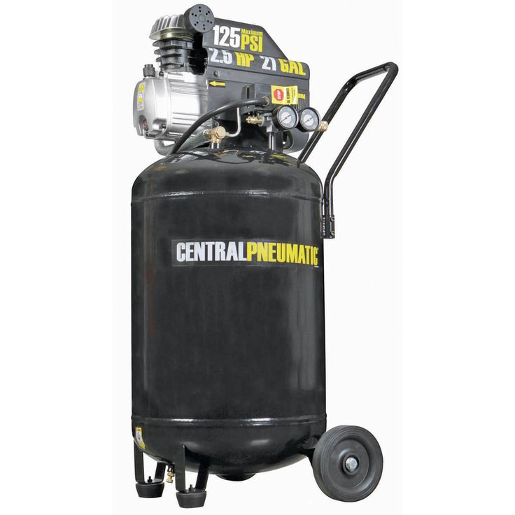 2.5 Horsepower, 21 gal., 125 PSI Cast Iron Vertical Air Compressor