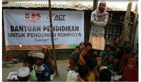 SOS Rohingya X (2): Nyala Semangat Ajar Guru Rohingya