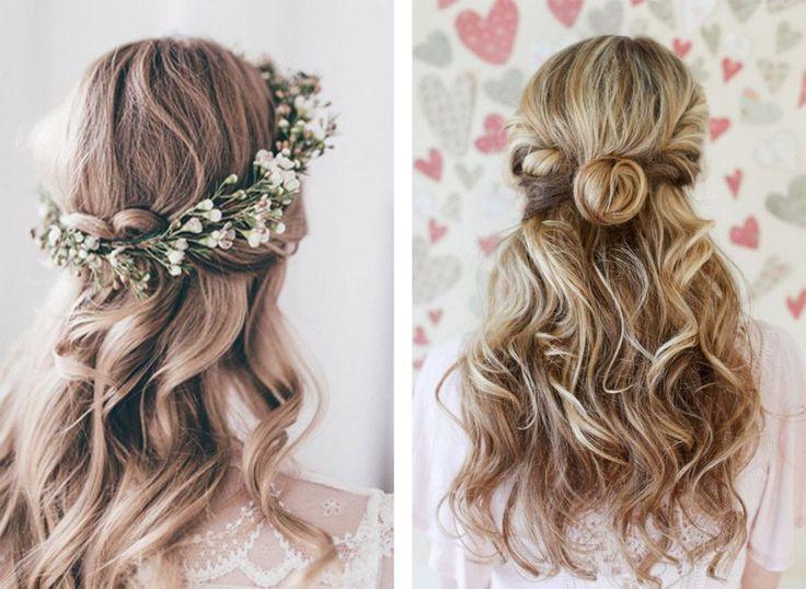 Peinados para bodas semirecogido2