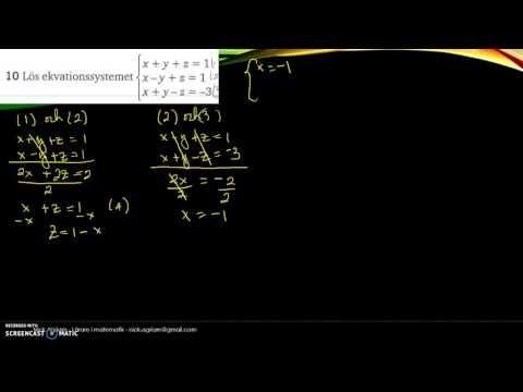 Matematik 5000 Ma 2c   Kapitel 1   Algebra och linjära modeller   Blanda...