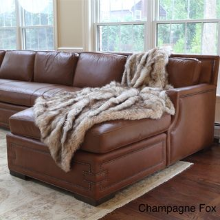 Wild Mannered Luxury Long Hair Faux Fur 60x84 Lap Throw | Overstock™. want one for my bed