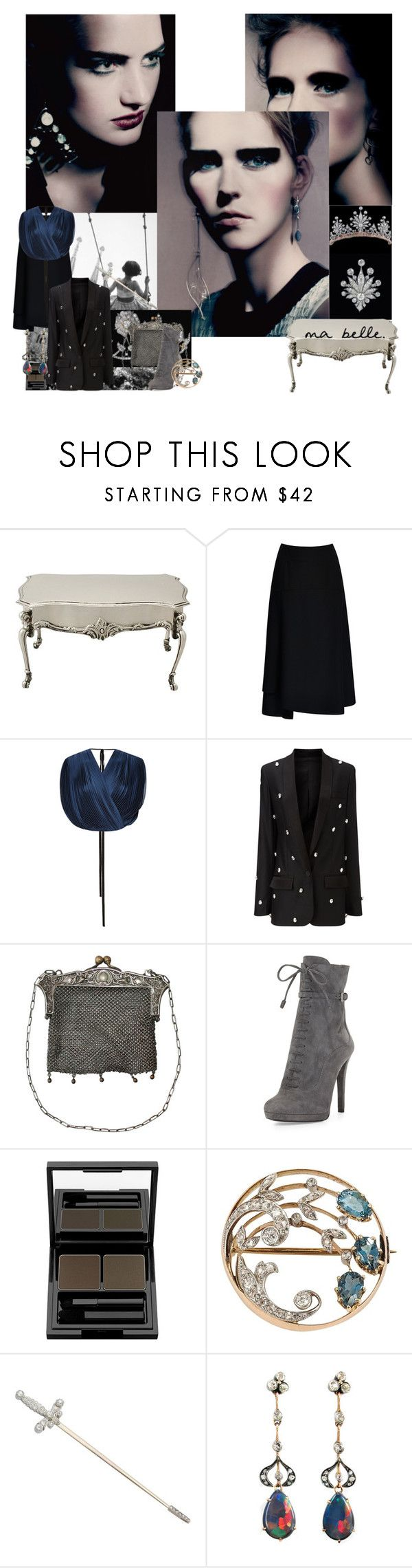 """Belle"" by sue-mes ❤ liked on Polyvore featuring Epoque, Once Upon a Time, Tome, Racil, CO, Prada and shu uemura"