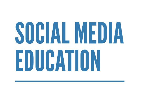 Resources to gain further social media education.