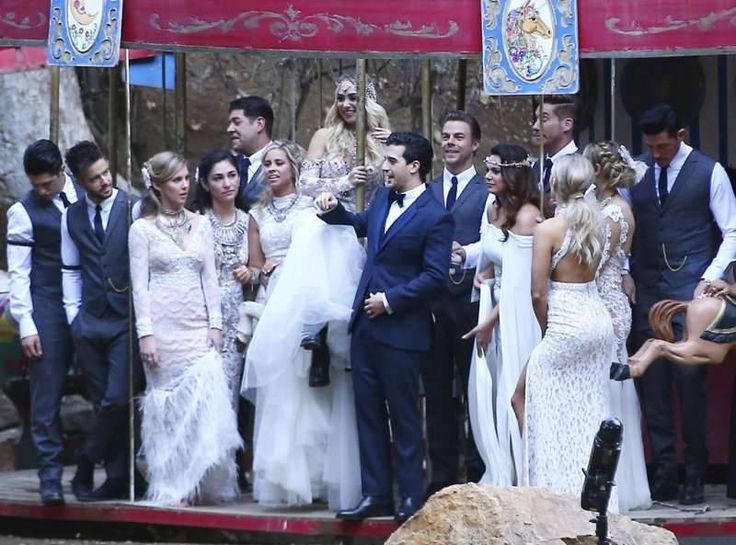 Mark Ballas and BC Jean Sparkled Like a DWTS Dancer at Their Wedding