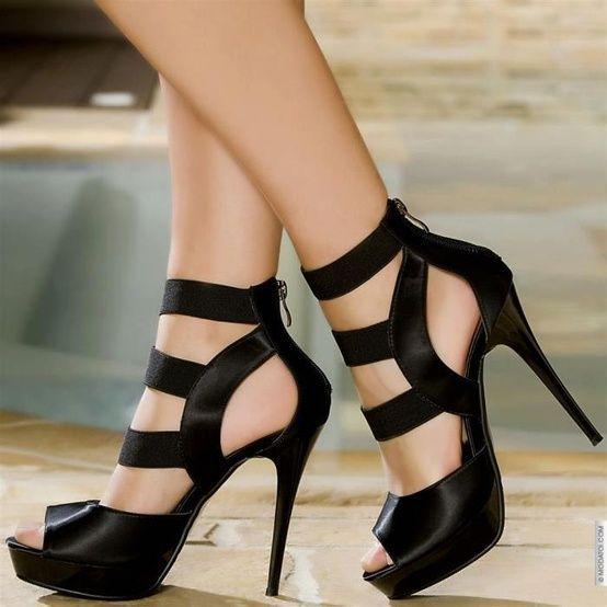 Black Heels ...