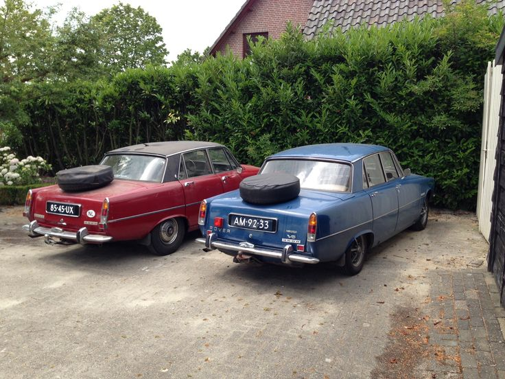Left :1974 series two , right 1970 series one. Both 3500 V8