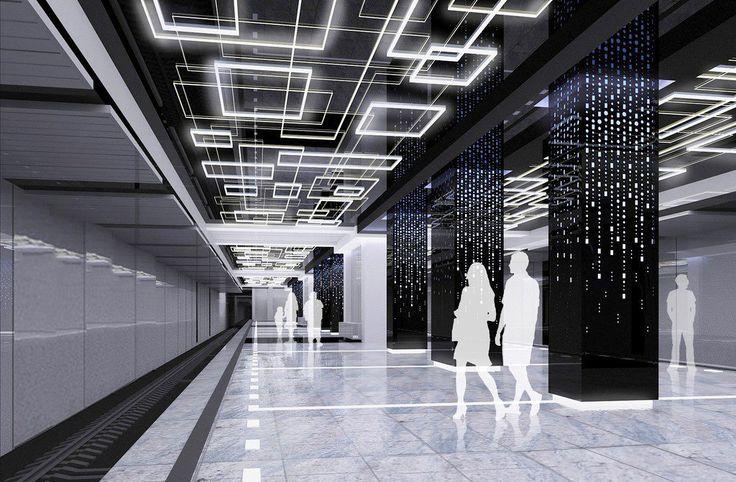 На станции «Говорово» колонны и потолок сделают светящимися http://aspnova.ru/politika/na-stantsii-govorovo-kolonnyi-i-potolok-sdelayut-svetyashhimisya/ Утвержден дизайн Говорово черный зеркальный потолок и бело-желто-фиолетовая подсветка 0 Автор Анна Преображенская Кроме этого, при оформлении будет впервые применена подсветка сразу трёх цветов — жёлтого, белого и фиолетового. Солировать в дизайне «Говорова» будет освещение. Как информирует сайт московской мэрии, на станции сделают…