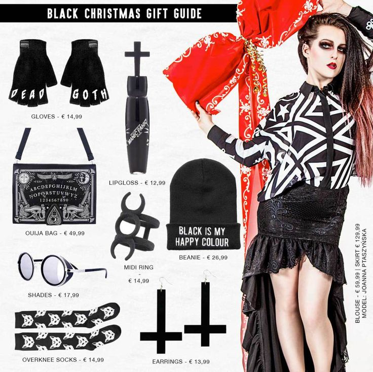 Gift ideas for a Black Christmas! Find all items on our website: http://www.attitudeholland.nl