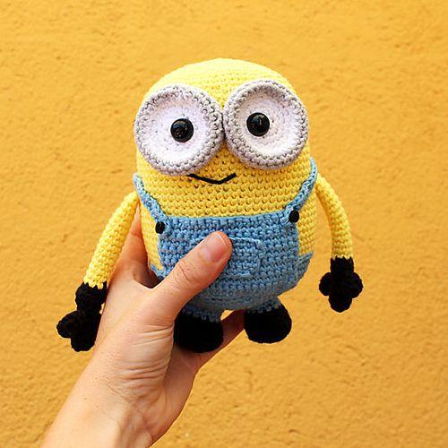 Ravelry: Minion Bob - Soft Toys Amigurumi Pattern pattern by Anabel Catalan