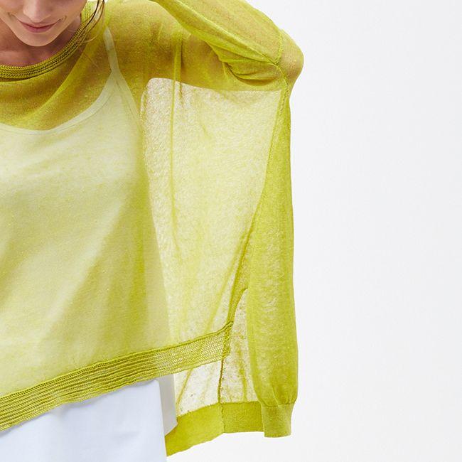 The Baja Knit | sheer detail | #nikelandsole #designedinmelbourne #knitwear #refinedyarn