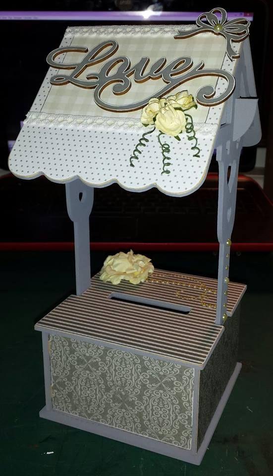 BTP Mini Wishing Well - Baby Shower -  Kaisercraft After Five collection ~Karyn Watton