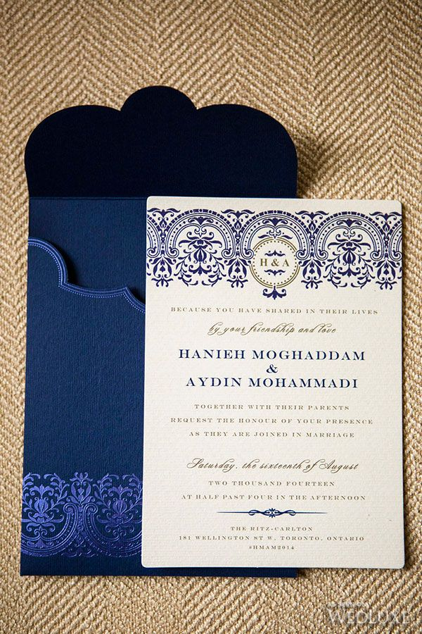 Purple & Gold Persian Wedding