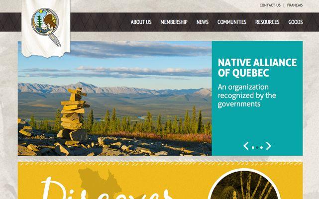 Alliance autochtone du Québec - www.aaqnaq.com #webdesign #gatineau #ottawa #websitedesign