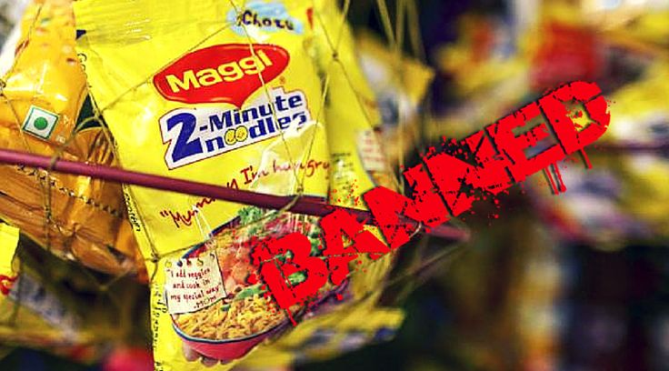 """Nestle's well-known brand of """"Nestle Maggi Noodles"""" failed to pass safety tests and ordered its exclusion from each suppliers over the entire nation. Presently popular Nestle Maggi Noodles are banned for supposedly containing dangerous levels of lead."""
