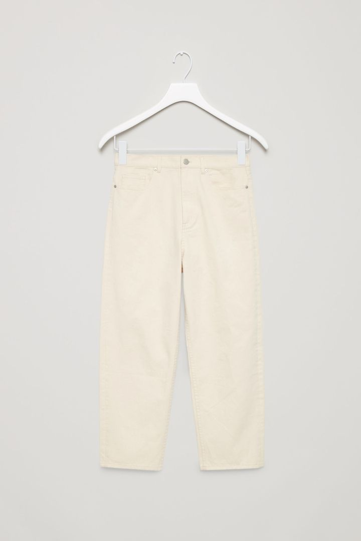 COS   Relaxed straight-fit jeans