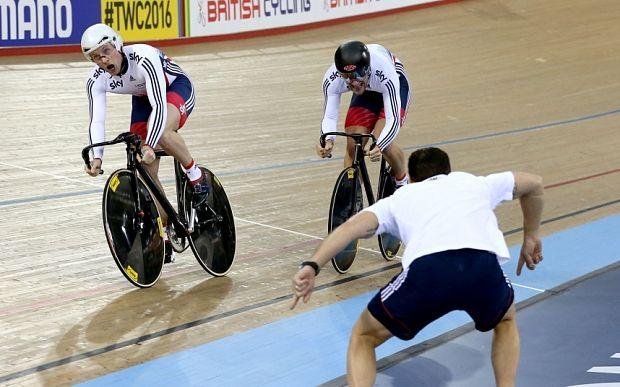 UCI Track Cycling World Championships 2016: Jason Kenny will terrify rivals at Olympics, says Sir Chris Hoy - Telegraph