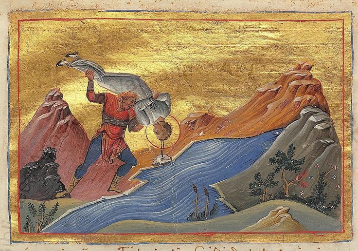 "10/5: Saint Charitina of Amisus (died 304) - They threw her into the sea, but she clambered out saying, ""This is my baptism."" God delivered her from it. (Menologion of Basil II)"